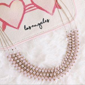 Grapefruit Jeweled Necklace